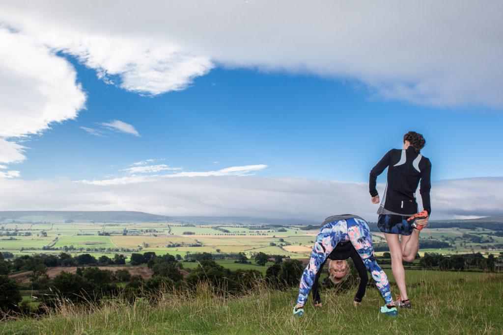 veggie runners yoga