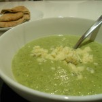 Easiest Broccoli and Stilton Soup Ever
