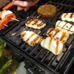 Barbequed Halloumi with Chilli Oil
