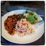 Moroccan Chickpea Tagine with Fragrant Brown Rice