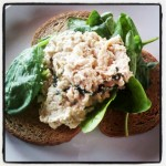 Scrambled Eggs with Basil and Black Pepper