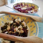 Beetroot, Feta and Pumpkin Seed Salad