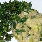 gorgonzola, spinach and quinoa risotto