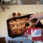 Bibi's Birthday Fruity Chelsea Buns