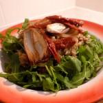 Roasted Shallot, Quinoa and Sun-dried Tomato Salad