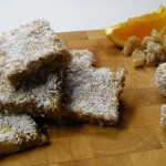 Coconut and Ginger Energy Bars