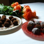 Vegan Dark Chocolate Truffles