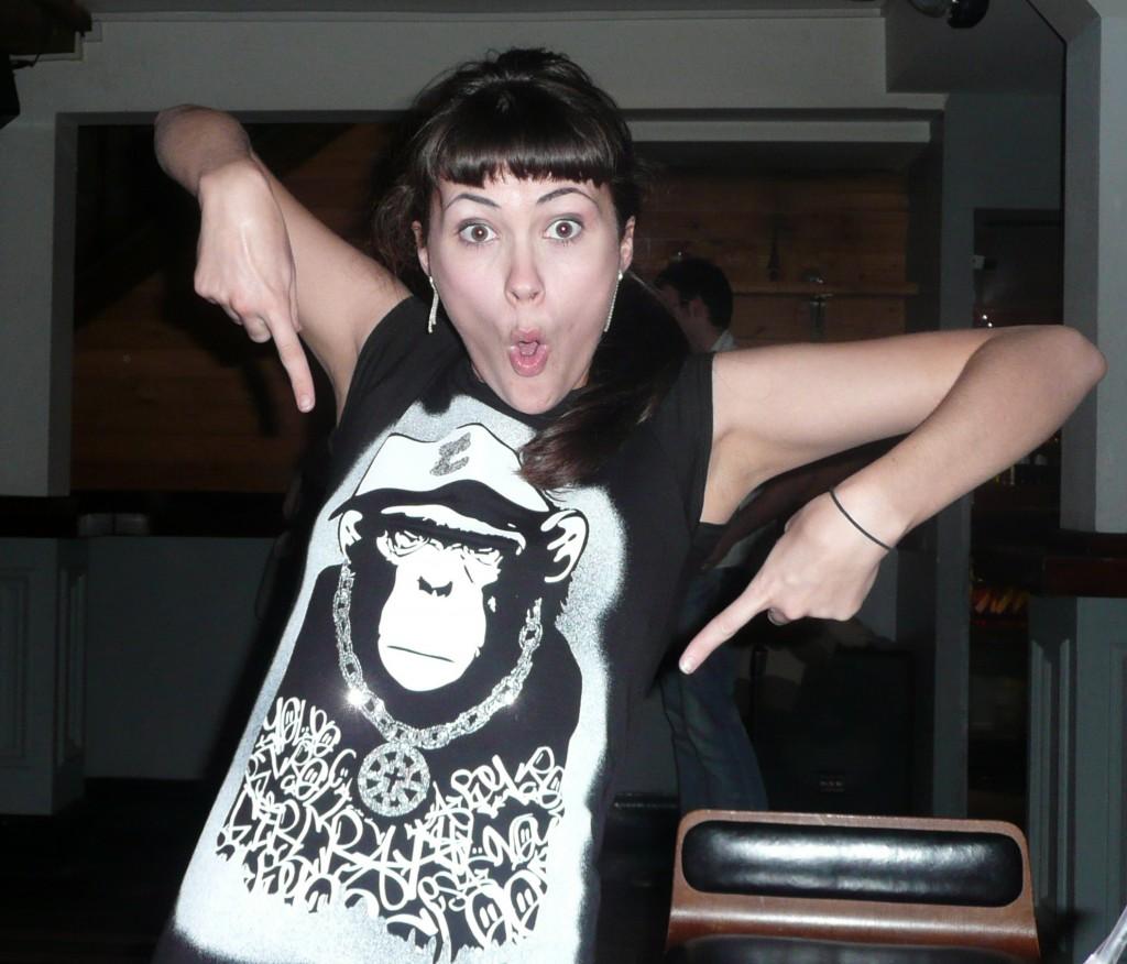 bibi monkey tee