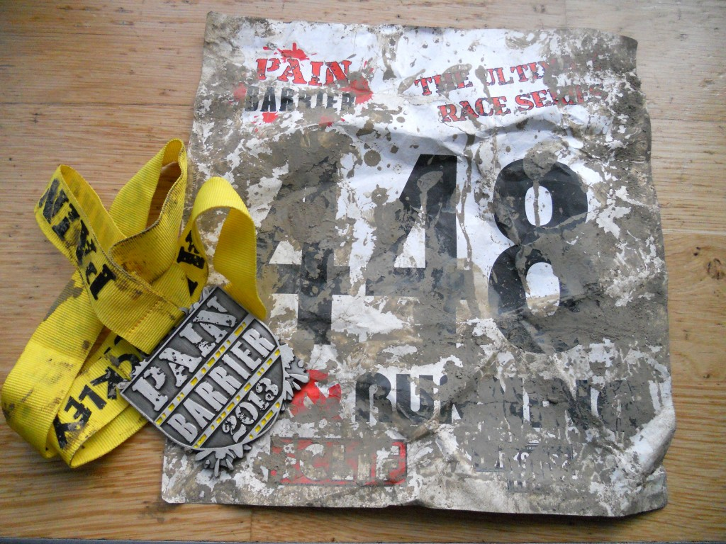 pain barrier race number