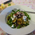 Quinoa with Courgette, Feta and Sumac
