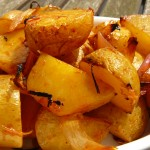 Harissa Roasted New Potatoes