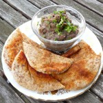 Vegan Aubergine and Roasted Red Onion Dip