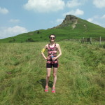 Trail run up Roseberry Topping