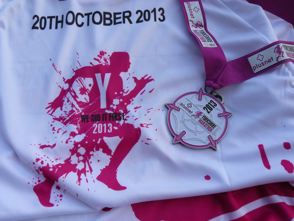 yorkshire marathon medal