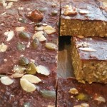Chocolate Nut Energy Bars