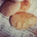 Chia Seed Pitta Breads