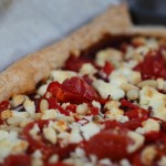 Feta and Cherry Tomato Flaky Pastry Pizza