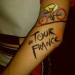 bibi's tour de france tattoo
