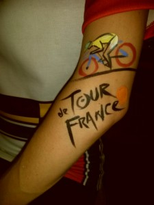 bibi's tour de france tattoo
