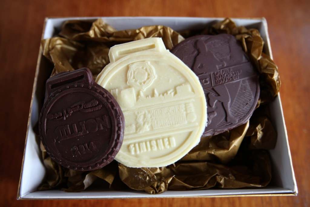 chocolate race medals, how to make chocolate race medals