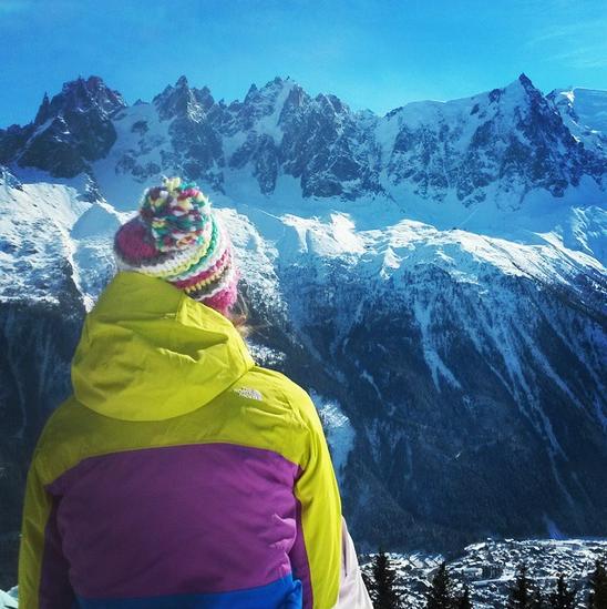 Picnic in Chamonix