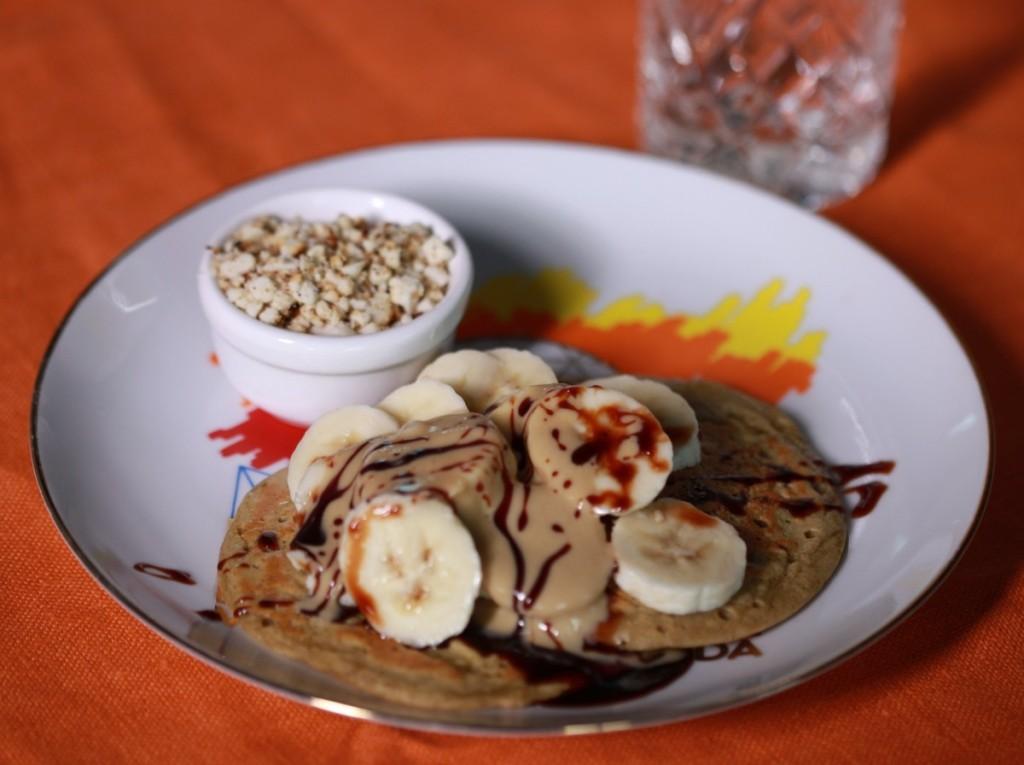 vegan protein pancakes veggie runners