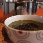 Kale and Sesame Soup