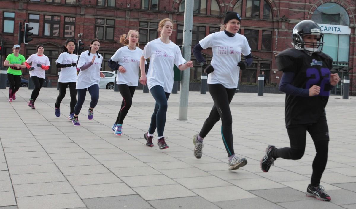 International Women's Day Run with Veggie Runners