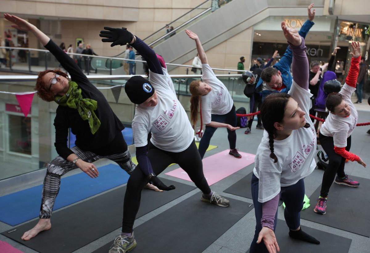 veggie runners IWD roga