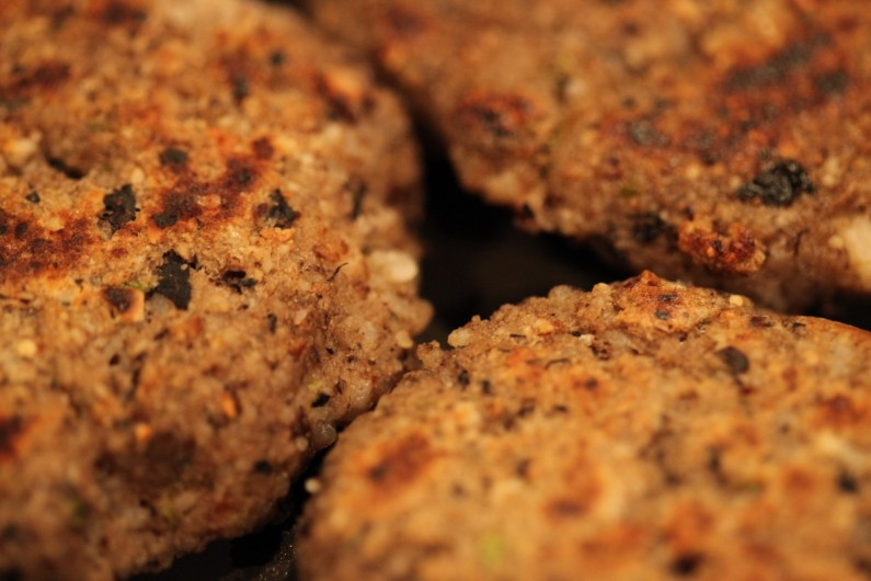 Veggie Runners Porcini and Brazil Nut Burgers