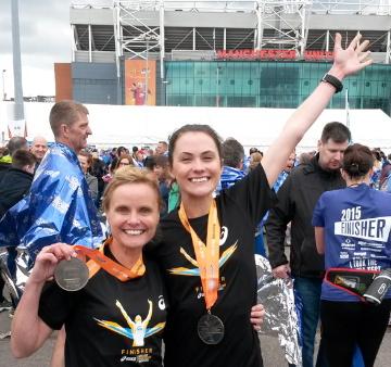 Veggie Runners Manchester Marathon Medals