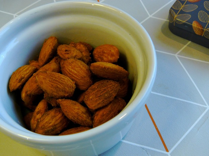 Turmeric and Citrus Spiced Almonds