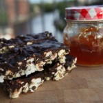 Chocolate Orange Popcorn Energy Bars