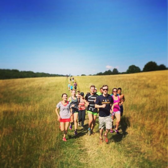 Wild Runs at Wilderness Festival - not a portaloo in sight! Image copyright: Suzie Sheehey