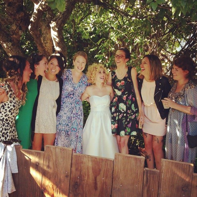 Mollie's Wedding - The Girls