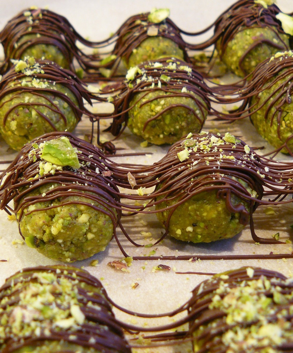 Pistachio and Cardamom Marzipan - 5 Ingredients, Vegan and Gluten Free