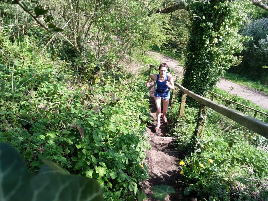 Trail Run Veggie Runners Half Marathon Training