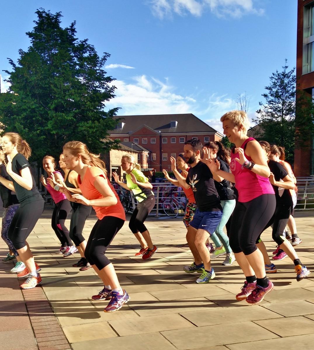 veggie runners core training, run your best 10k, sweaty betty running workshop leeds