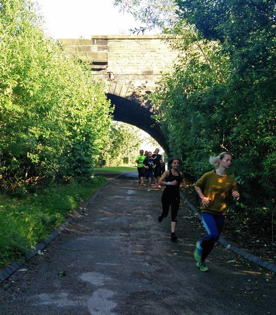 veggie runners hill training, run your best 10k, sweaty betty workshop
