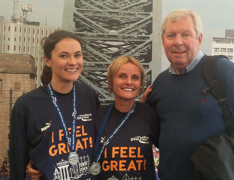 veggie runners with brendan foster, veggie runners, jayne and bibi veggie runners, veggie runners great run
