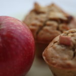 Vegan Tahini and Apple Muffins