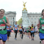 bibi veggie runners, veggie runners london marathon, london marathon 2017 race report, veggie runners race photos