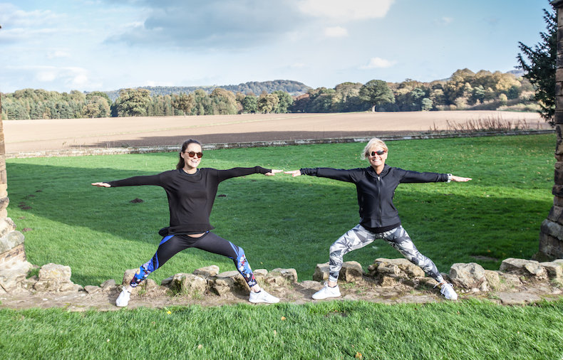 veggie runners yoga guisborough abbey, veggie runners yoga, yoga guisborough abbey, veggie runners outdoor yoga